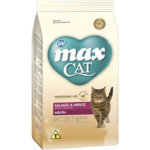 MAX CAT ADULTO LINE CASTRADOS SALMÃO 3KG