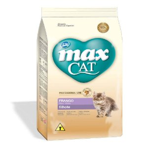 MAX CAT FILHTE LINE FRANGO 1KG