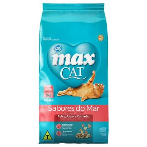 MAX CAT SABORES DO MAR 3KG