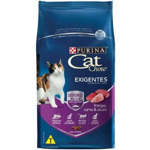 CAT CHOW  ADULTOS EXIGENTES 1KG