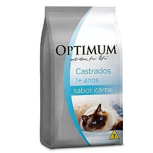 OPTIMUM GATOS ADULTO CASTRADOS CARNE 3KG