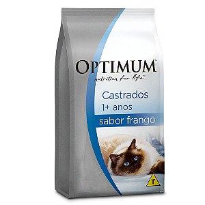 OPTIMUM GATOS ADULTOS CASTRADOS FRANGO 10,1KG