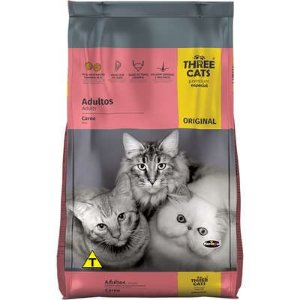 THREE CATS ORIGINAL GATOS ADULTOS CARNE 1KG