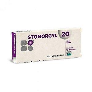 STOMORGYL 20 CX COM 10 COMP