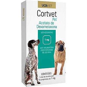 CORTVET 1MG 10 COMPRIMIDOS