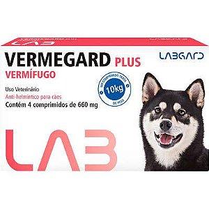 VERMEGARD PLUS 4 COMPRIMIDOS CX
