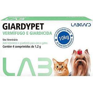 GIARDYPET 4 COMPRIMIDOS CX
