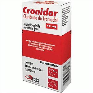 CRONIDOR 12MG COM 10 COMPRIMIDOS