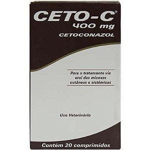 CETO-C 400MG COM 20 COMPRIMIDOS