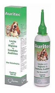 AURITEC LOCAO PARA LIMPEZA DOS OUVIDOS - 100 ML