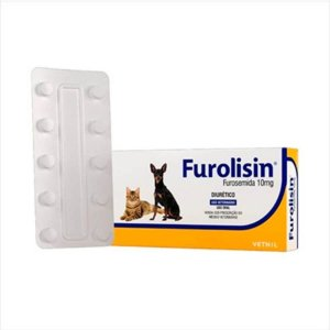 FUROLISIN 10MG 10 COMP. (CARTELA)