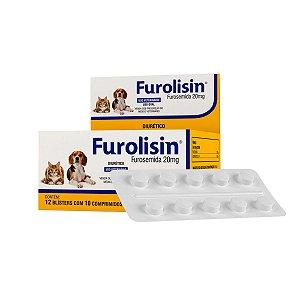 FUROLISIN 20 MG 10 COMP. (CARTELA)