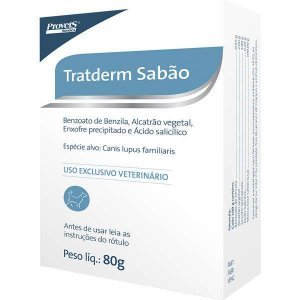 SABÃO TRATDERM 80 G