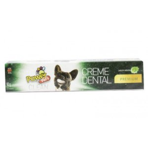 CREME DENTAL MENTA POWER PETS CLEAN 90G