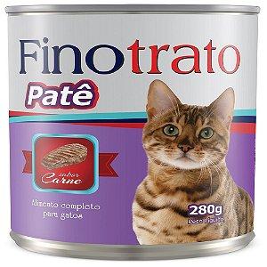 FINOTRATO PATÊ GATOS CARNE 280GR
