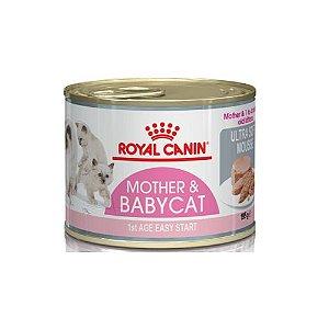 RAÇÃO ÚMIDA ROYAL CANIN LATA BABY CAT INSTINCTIVE PARA GATOS FILHOTES 195G