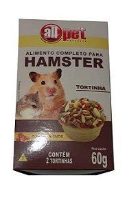 ALIMENTO PARA HAMSTER TORTINHA 60G