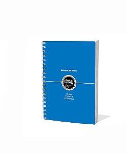 Sketchbook Para Desenho Pixel Art A5 Azul