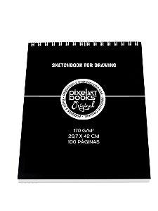Sketchbook Para Desenho Pixel Art A3