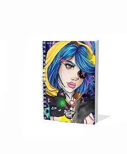 Sketchbook Para Desenho A5 Pixel Art Edição Limitada
