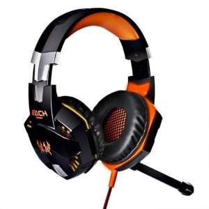 Fone De Ouvido Headset Gamer Usb Microfone Kotion Each G2000