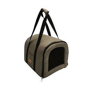 Transporte Top Premium Bege - FabricaPet