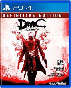 Jogo DMC Devil May Cry - Ps4 Mídia Física Usado