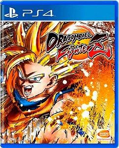 Jogo Dragon Ball FighterZ - Ps4 Mídia Física Usado
