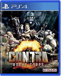 Jogo Contra Rogue Corps - Ps4 Mídia Física Usado