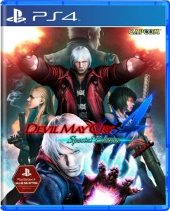 Jogo Devil May Cry 4 Special Edition  (Cero) - Ps4 Mídia Física Usado