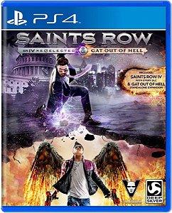 Jogo Saints Row SR IV R. Gat Out of Hell - PS4 Mídia Fisica Usado