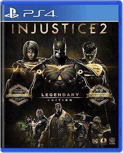 Jogo Injustice 2 Legendary Edition - Ps4 Mídia Física Usado