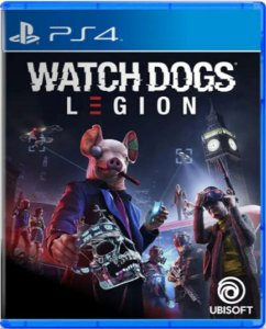 Jogo Watch Dogs Legion - Ps4 Mídia Fisica Usado