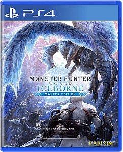Jogo Monster Hunter World Iceborne Master Edition - Ps4 Mídia Física Usado