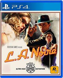Jogo L.A. Noire - Ps4 Mídia Física Usado