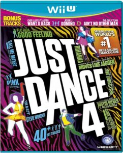 Jogo Just Dance 4 - Wii U Mídia Física Usado