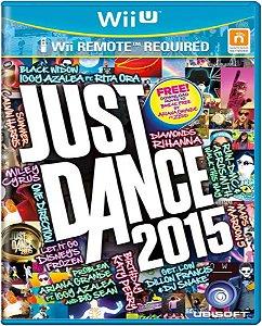 Jogo Just Dance 2015 - Wii U Mídia Física Usado