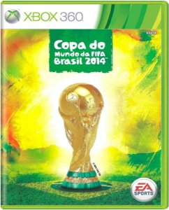 Jogo Copa do Mundo Fifa 2014 - Xbox 360 Mídia Física Usado