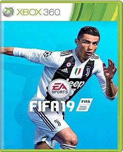Jogo Fifa 19 Edição Legacy - Xbox 360 Mídia Física Usado