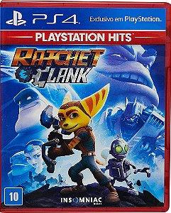 Jogo Ratchet & Clank Playstation Hits - Ps4 Mídia Física Usado