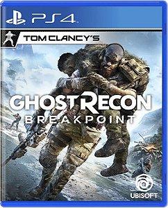 Jogo Ghost Recon Breakpoint - PS4 Mídia Física Usado