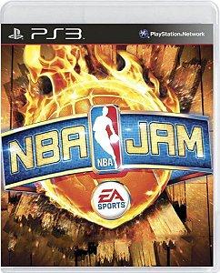 Jogo NBA Jam - Ps3 Mídia Física Usado