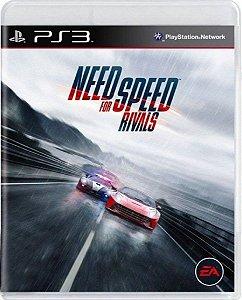 Jogo Need for Speed Rivals - Ps3 Mídia Física Usado