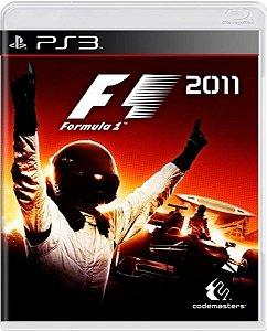 Jogo Formula 1 2011 - Ps3 Mídia Física Usado