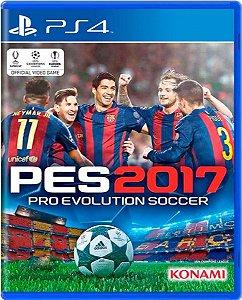 Jogo Pro Evolution Soccer 2017 - Ps4 Mídia Física Usado