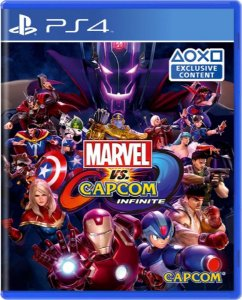 Jogo Marvel Vs Capcom Infinite - Ps4 Mídia Física Usado