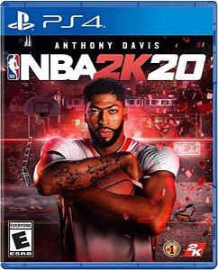 Jogo NBA 2K20 - Ps4 Mídia Física Usado