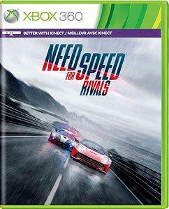Jogo Need For Speed Rivals - Xbox 360 Mídia Física Usado