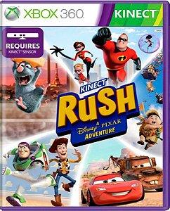 Jogo Kinect Rush - Xbox 360 Mídia Física Usado