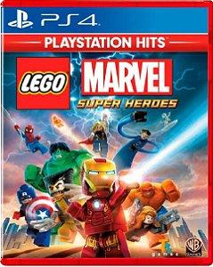 Jogo Lego Marvel Super Heroes Ps Hits - Ps4 Mídia Física
